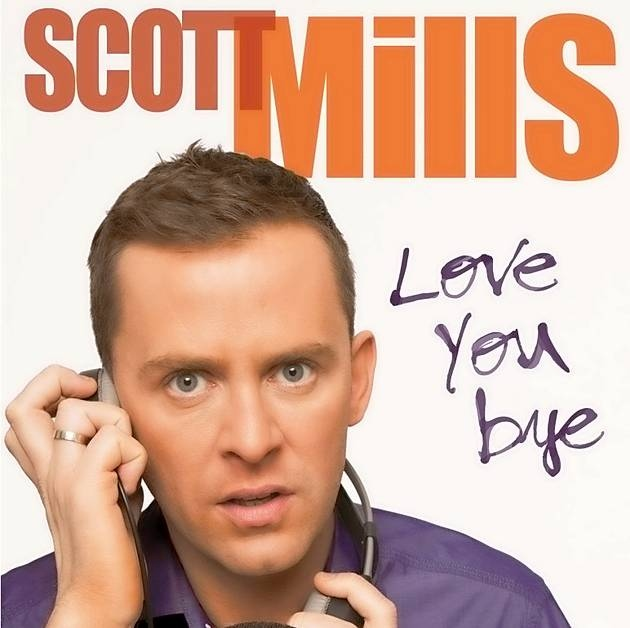 Win! A signed copy of Scott's book 'Love You, Bye'!